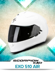 Scorpion Exo 510 Air White