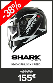 Shark S900 C Pinlock Creed