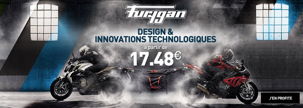 Furygan : design et innovations technologiques à partir de 17.48€