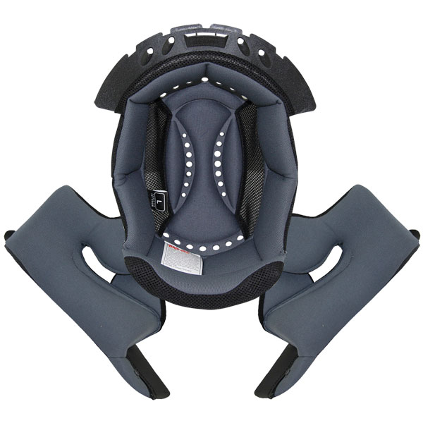 Interieur casque Scorpion Interieur complet Exo 750 Air Gris