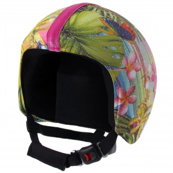 Personnalisation casque Helmetdress Peace and Love Jet