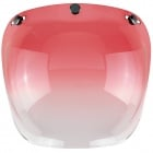 Visiere Biltwell Bubble Shield Gradient Red