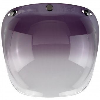 Visiere Biltwell Bubble Shield Gradient Smoke