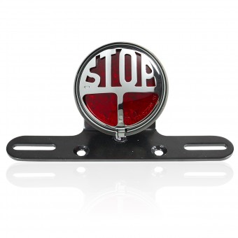 Feux & phares moto Chaft Stop Red