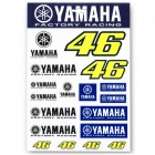 Kit Autocollants Moto VR 46 Stickers Yamaha VR46