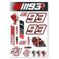 Kit Autocollants Moto Marquez 93 Marquez 93 Stickers Big