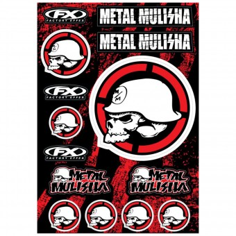 Kit Autocollants Moto FX Metal Mulisha 1