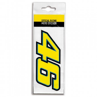 Kit Autocollants Moto VR 46 Sticker Moto Multicolor VR46