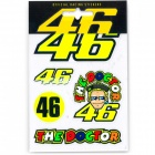 Kit Autocollants Moto VR 46 Sticker Small VR46