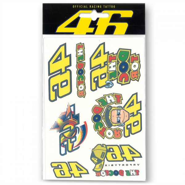 Kit Autocollants Moto VR 46 Tattoo Set VR46