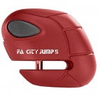 Bloc-disques France Antivol FA City Jump Rouge - Pin de 5 mm