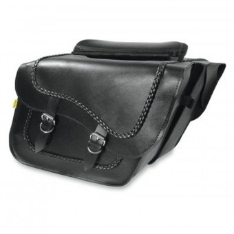 Sacoches cavalieres Wille & Max Braided Slant Saddlebags