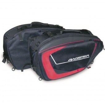 Sacoches cavalieres Bagster Cruise Black Red
