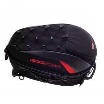 Sacoches de selle Bagster Spider Noir Rouge