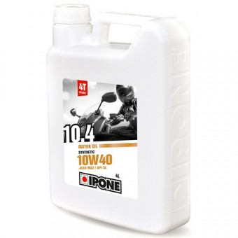 Huile moteur IPONE 10.4 - 10W40 Synthetic - 4 Litres 4T