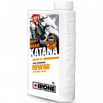 Huile moteur IPONE Katana Off Road - 10W60 - 2 Litres 4T