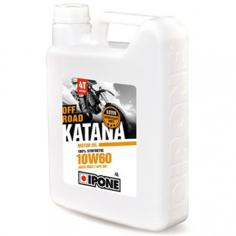 Huile moteur IPONE Katana Off Road - 10W60 - 4 Litres 4T