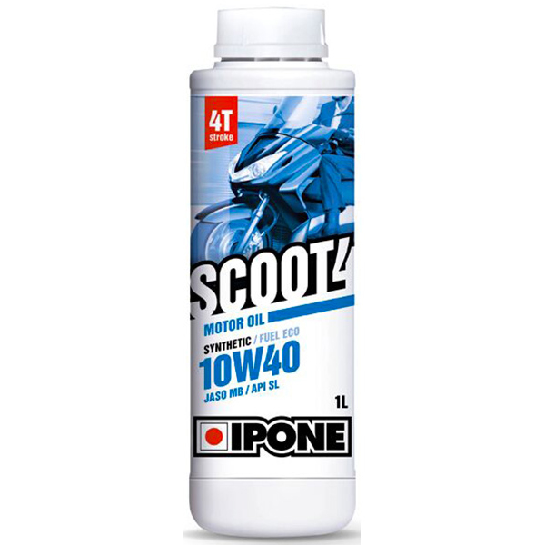 Huile moteur IPONE Scoot 4 - 10W40 Synthetic - 1 Litre 4T