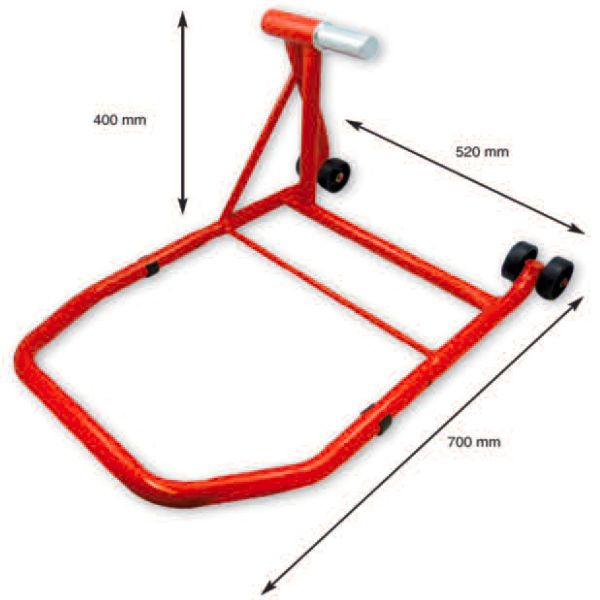 Lève-moto MAD Paddock Stand Route Arriere Monobras