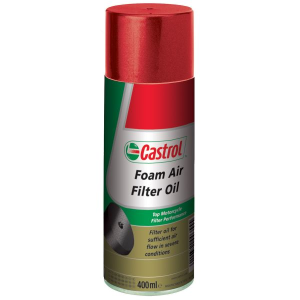 Sprays d'entretien Castrol Foam Air Filter Oil 400 ml