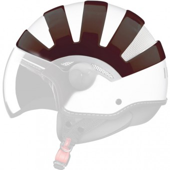 Personnalisation casque IDI Cover Marron transparent