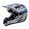 Casque moto Airoh Jumper Mister X Bleu