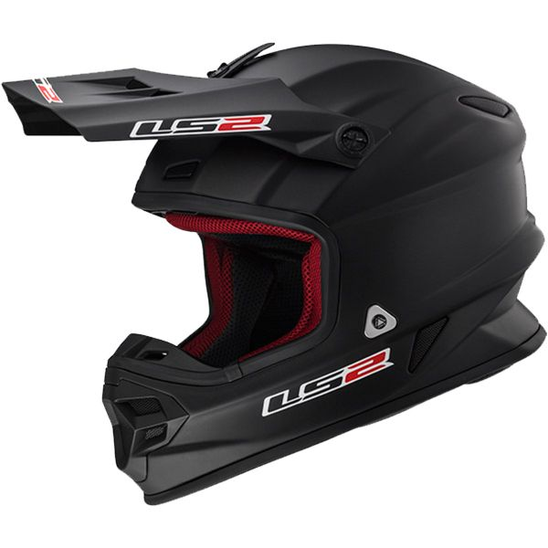 Casque Cross LS2 Light Evo Matt Black MX456 HPFC