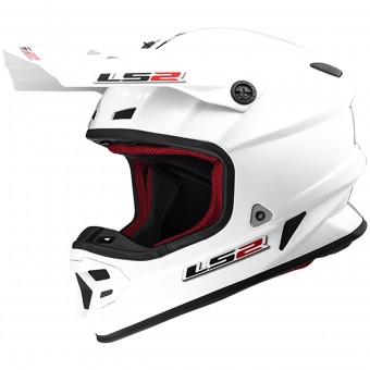 Casque Cross LS2 Light Evo White MX456 HPFC