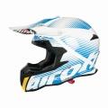Casque moto Airoh Terminator 2.1 Levels Bleu
