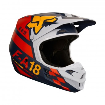 Casque Cross FOX V1 Sayak Orange