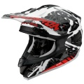 Casque moto Scorpion VX-15 Air Petrol Blanc