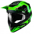 Casque Cross Scorpion VX-20 Air Quartz Vert Fluo
