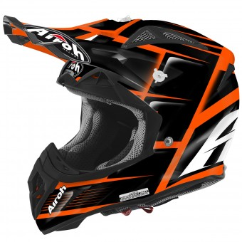 Casque Cross Airoh Aviator 2.2 Reflex Orange