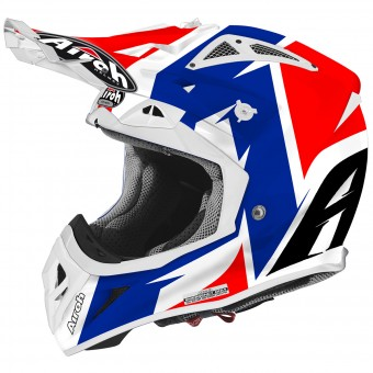 Casque Cross Airoh Aviator 2.2 Steady Gloss