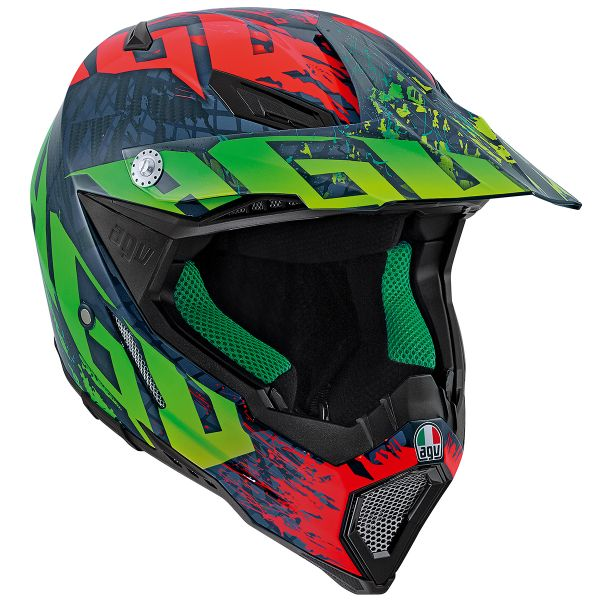 Casque Cross AGV AX-8 Carbon Nohander