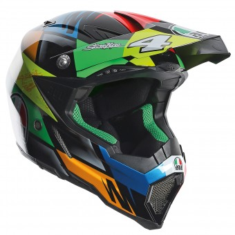 Casque Cross AGV AX-8 Evo Replica Chareyre