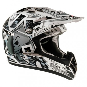 Casque Cross Airoh CR900 Raptor Gris Mat