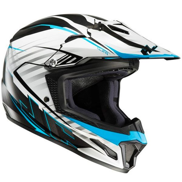 Casque Cross HJC CL-XY II Blaze MC2