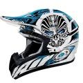 Casque moto Airoh CR901 Face Bleu