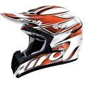 Casque moto Airoh CR901 Linear Orange