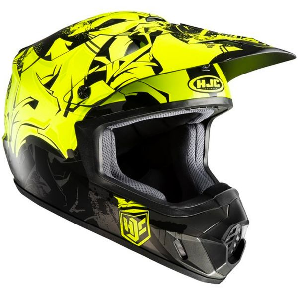 Casque Cross HJC CS-MX II Graffed MC4HSF