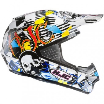 Casque Cross HJC CS-MX Clown MC3