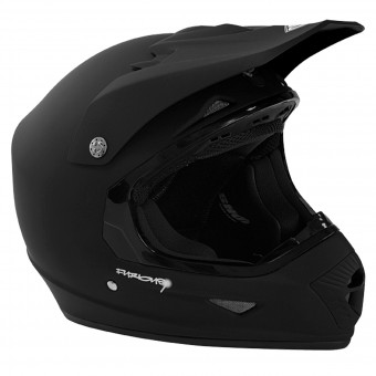 Casque Cross SHOT Furious Black Matt
