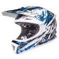 Casque moto SHOT Furious Charge Bleu Enfant