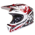 Casque moto SHOT Furious Charge Rouge