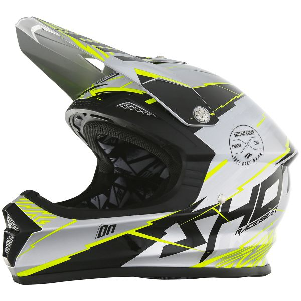 Casque Cross SHOT Furious Infinity Metal Grey