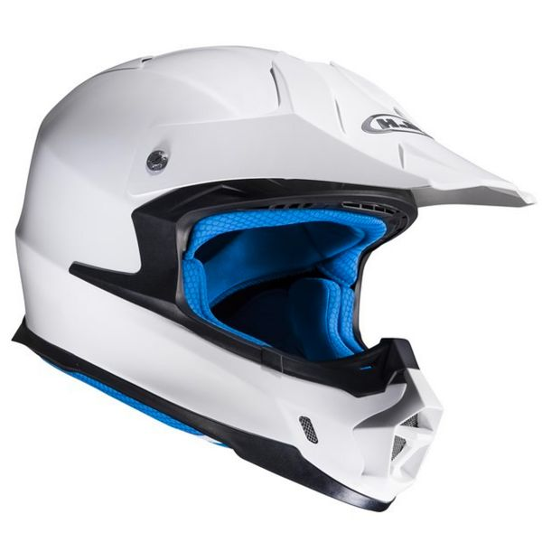 Casque Cross HJC FX-Cross White