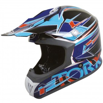 Casque Cross Torx Marvin 2 Blue Black