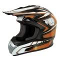 Casque moto Torx Marvin Orange