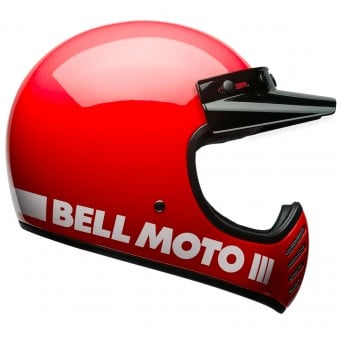 Casque Cross Bell Moto-3 Classic Red